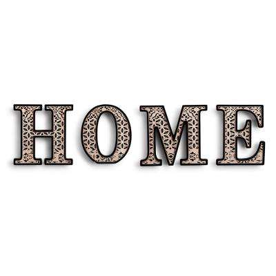 1 5 Lb Decorative Letters Wall Decor The Home Depot