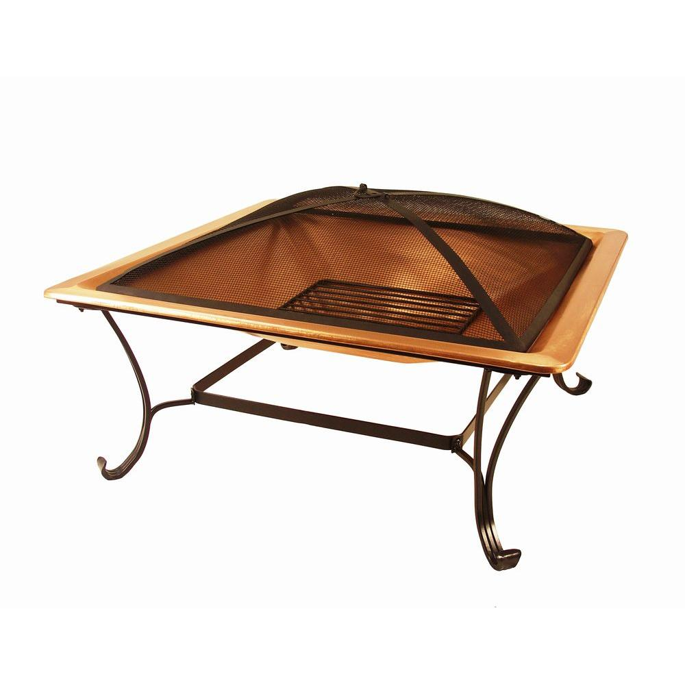 33 in. Copper Fire Pit