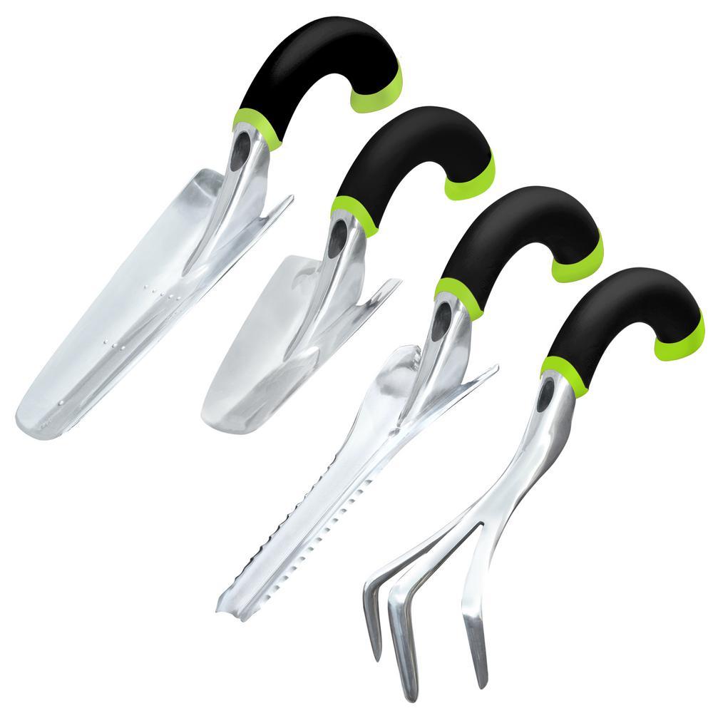 Ergonomic Hand Tool Set (4-Piece)