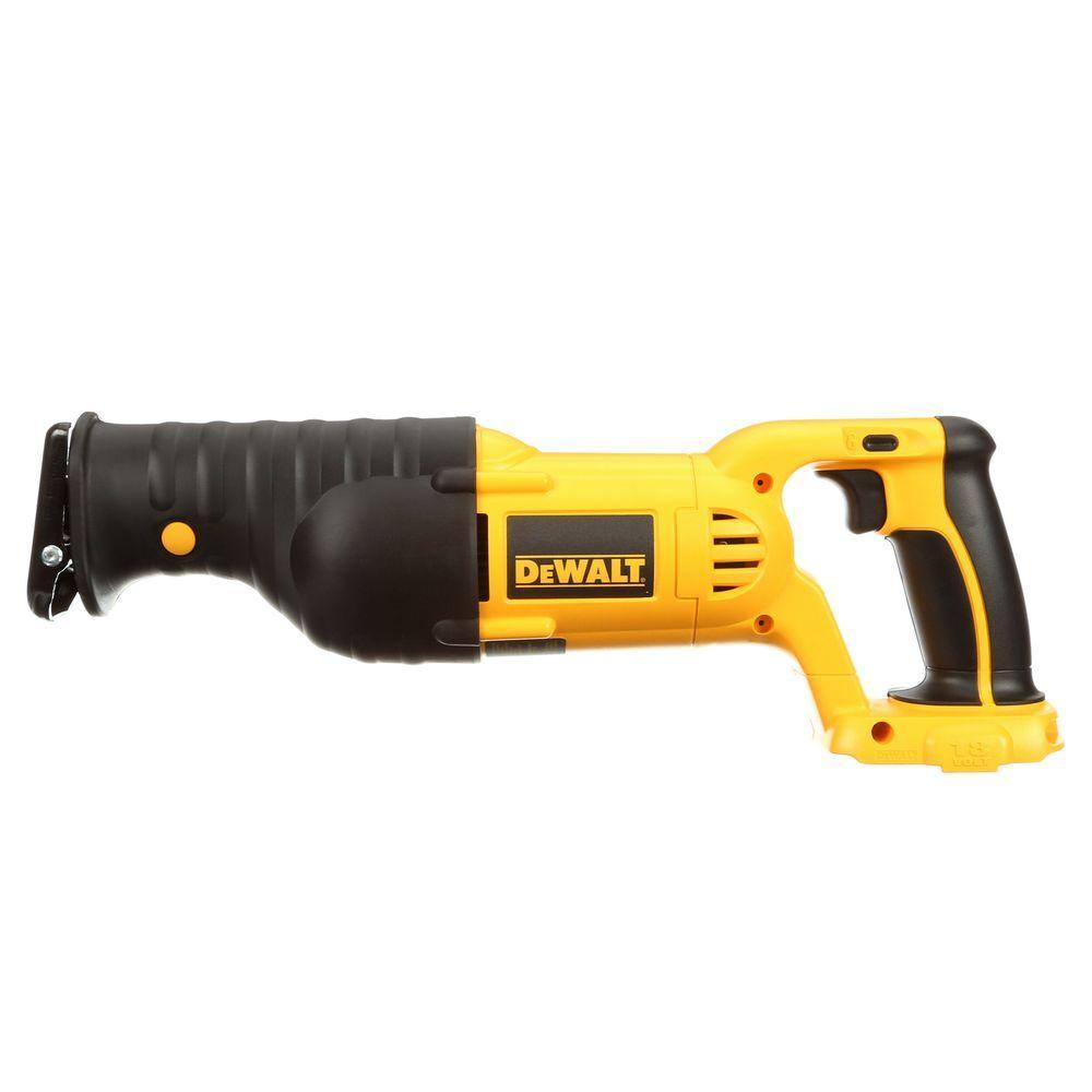 Dewalt 18-Volt NiCd Cordless Reciprocating Saw (Tool-Only) by DEWALT