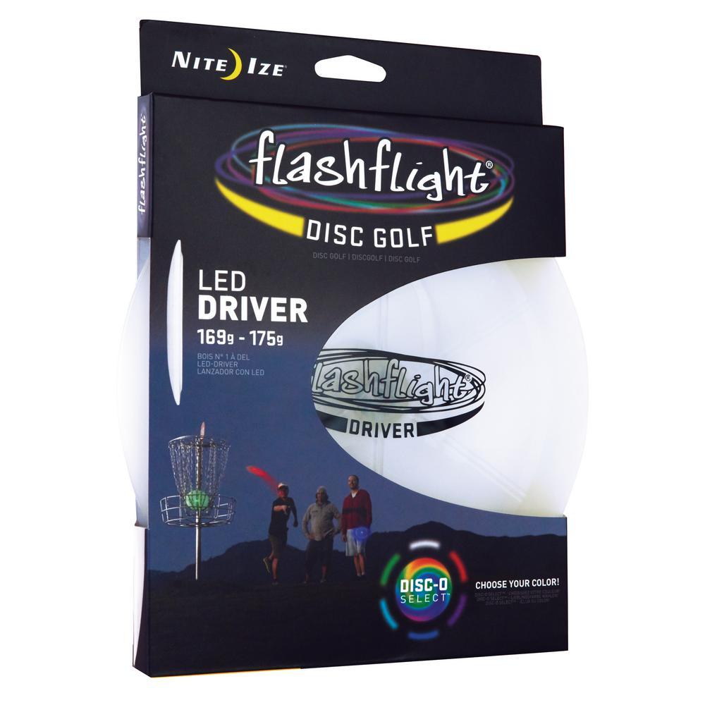 Flashflight LED Disc Golf Driver Disc-O Select