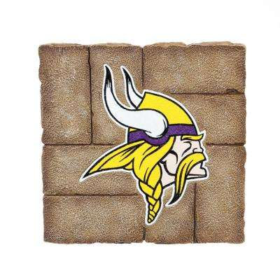 Minnesota Vikings 12 in. x 12 in. Decorative Garden Stepping Stone