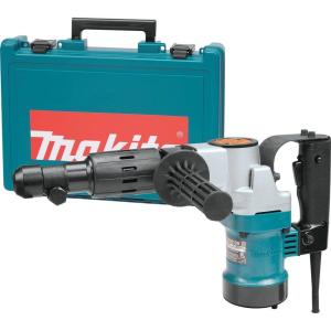 Makita 8.3 Amp 3/4 inch Hex Corded 11 lb. Demolition Hammer Drill with Tool Case by Makita