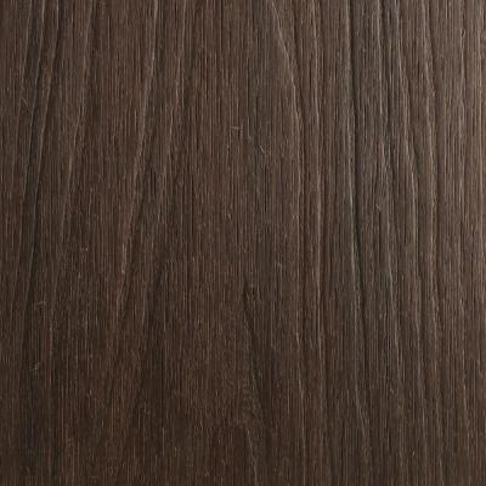 UltraShield Naturale Fascia 0.5 in. x 12 in. x 6 ft. Spanish Walnut Composite Fascia Decking Board