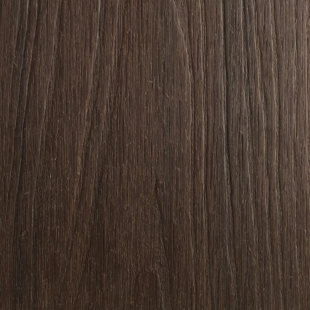 NewTechWood UltraShield Naturale Fascia 0.5 in. x 12 in. x 6 ft. Spanish Walnut Composite Fascia Decking Board