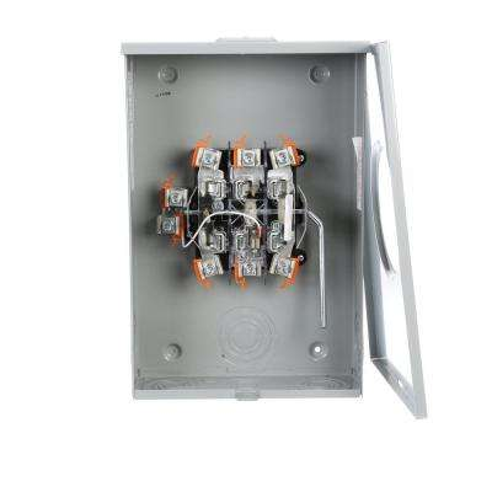 200 Amp 7 Jaw Ringless Lever Bypass OH/UG Fed Meter Socket
