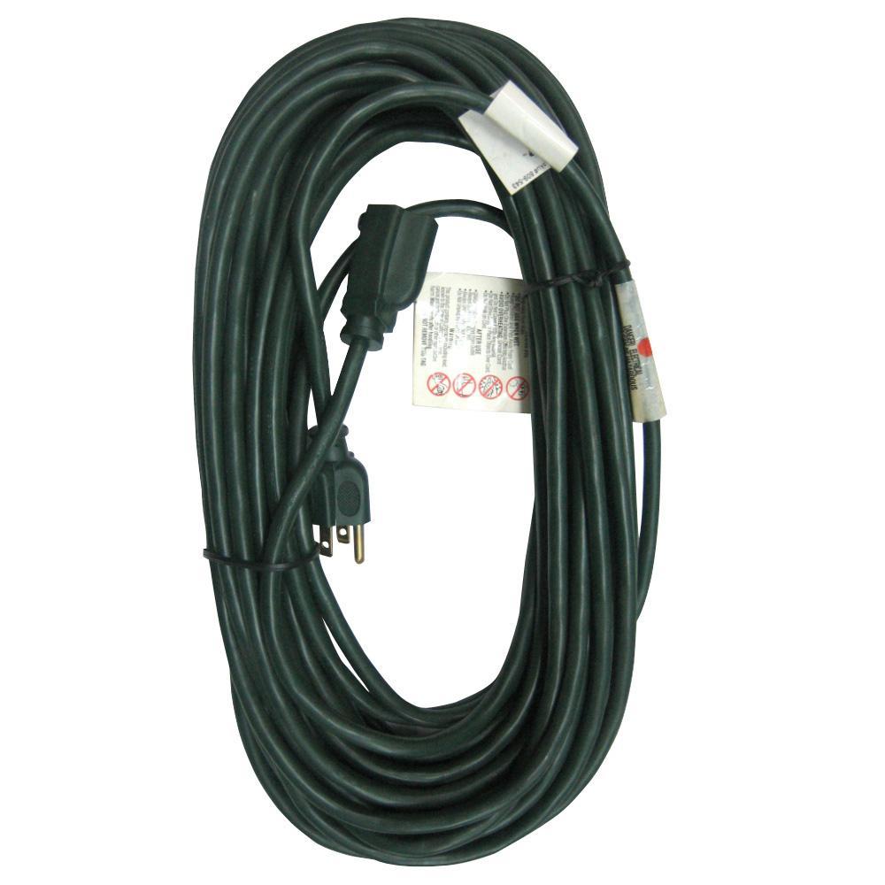 100 ft. 16/3 Indoor/Outdoor Extension Cord, Green