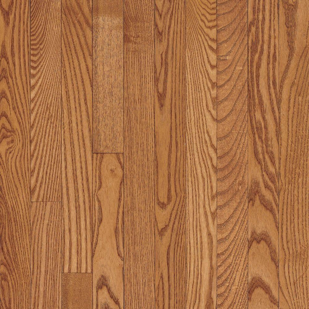 Bruce Natural Oak Parquet Spice Brown 5/16 In. Thick X 12