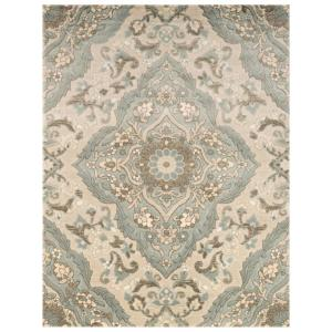 Home Decorators Collection Sherrington Blue 1 Ft 11 In X