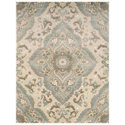 Sherrington Blue 1 ft. 11 in. x 3 ft. 5 in. Area Rug
