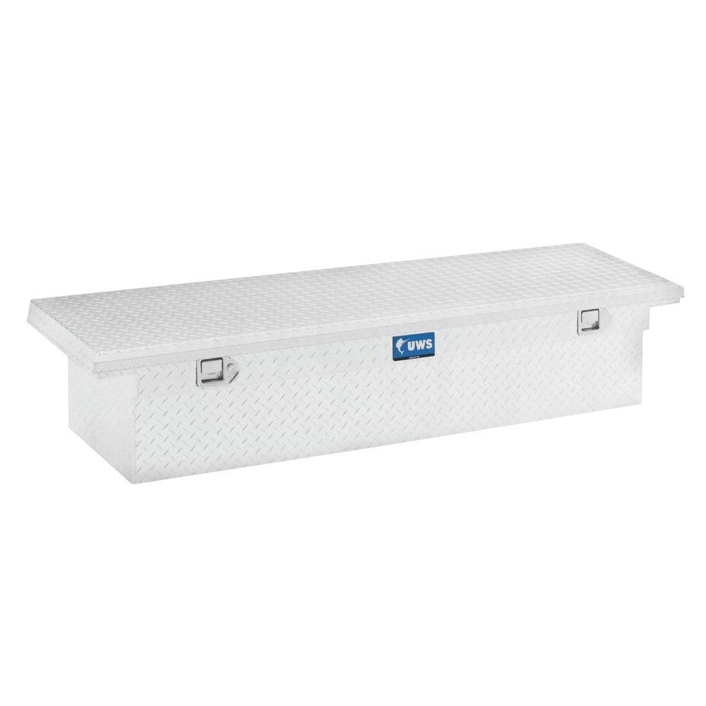 UWS 54 in. Aluminum Single Lid Crossover Toolbox SPLA with Low Profile