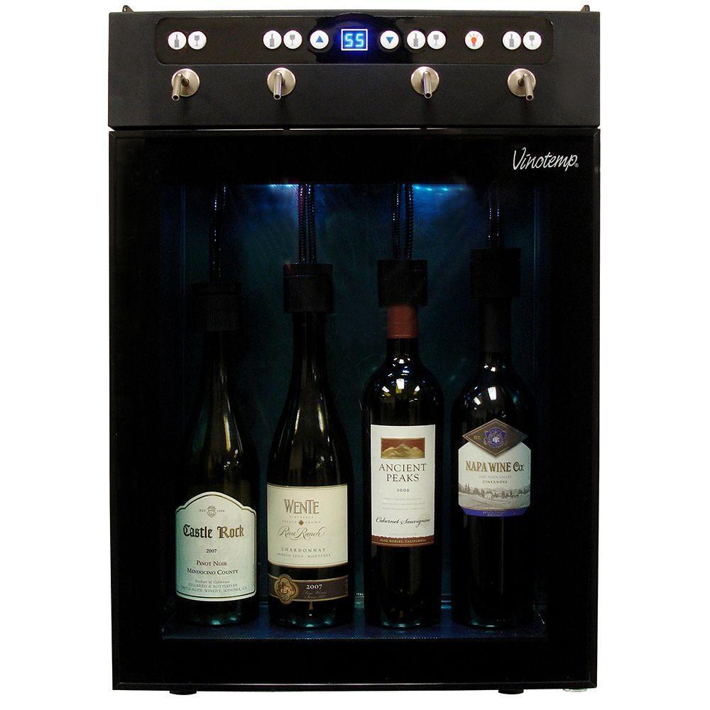 Vinotemp 4-Bottle Wine Dispenser and Preserver