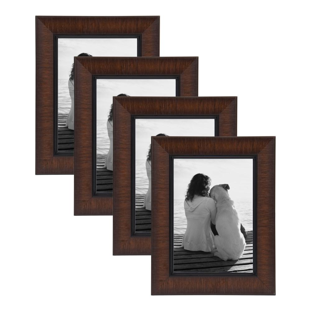 Lynnwood 5x7 Black Picture Frame Set of 4