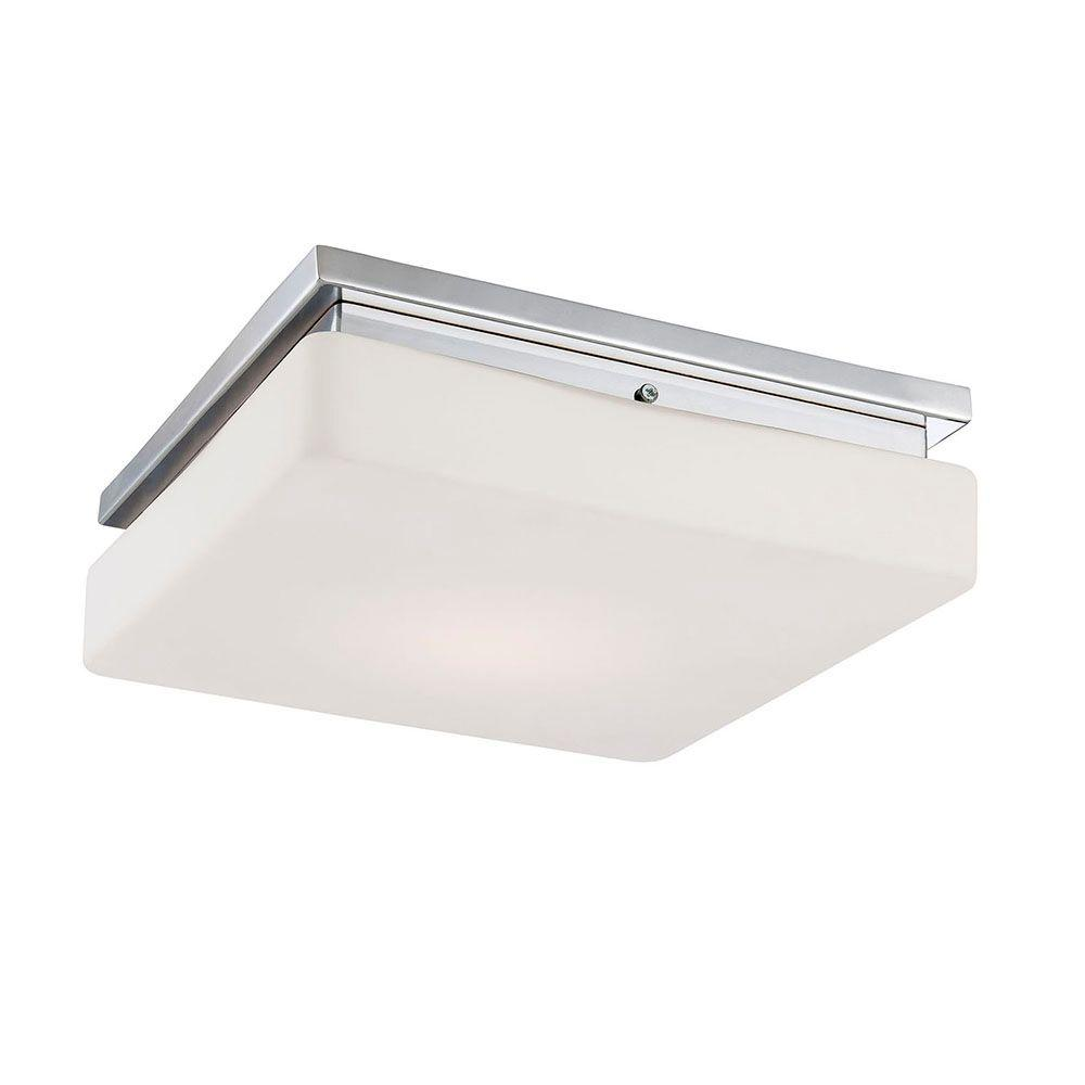 Ellsworth Collection 1-Light Chrome LED Flushmount