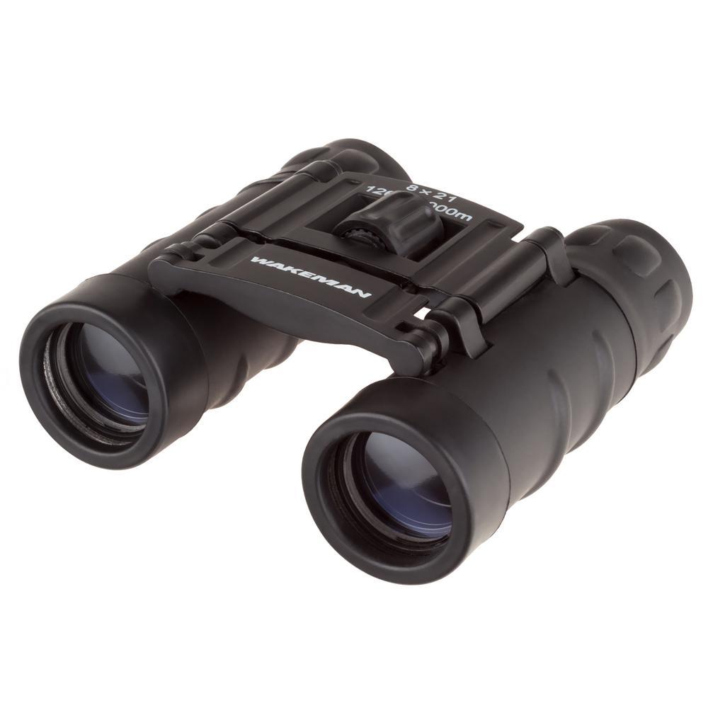 8 x 21 mm Pocket Sized Folding Adjustable Binoculars