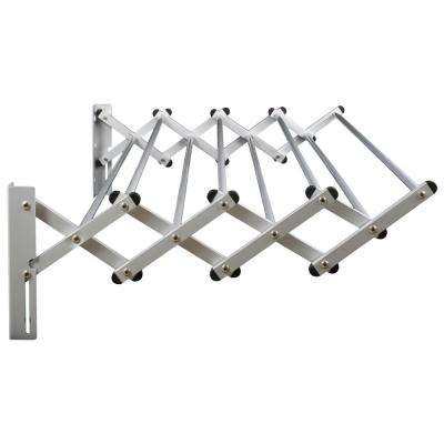 Indoor/Outdoor Foldable Drying Rack, with Optional Wall-Mount