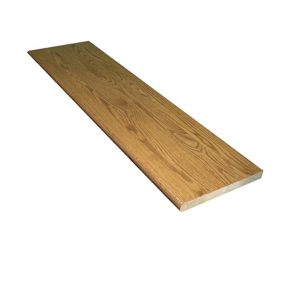 Stairtek 1 in x 11.5 in. x 42 in. Prefinished Marsh Red Oak Tread