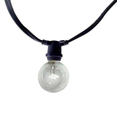 Commercial 50 ft. 40-Light String-Light With Clear Bulbs
