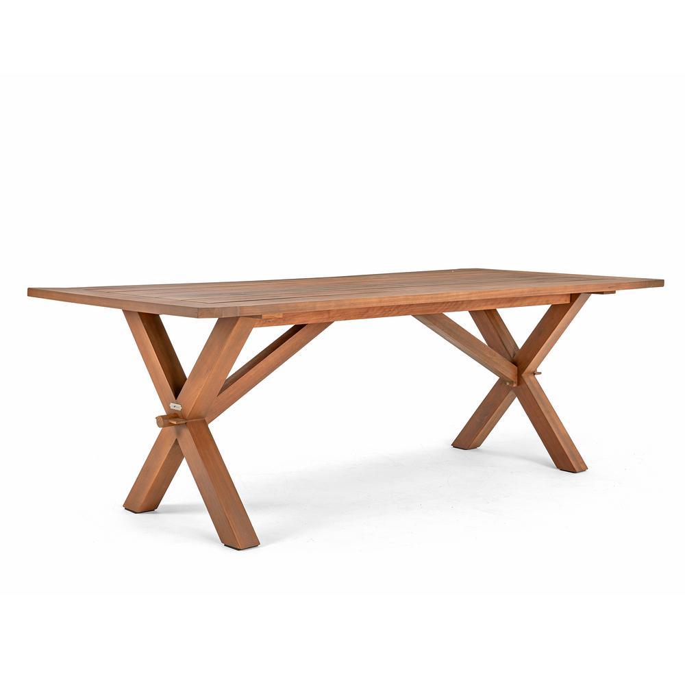 Cumberland Rectangular Wood Outdoor Dining Table