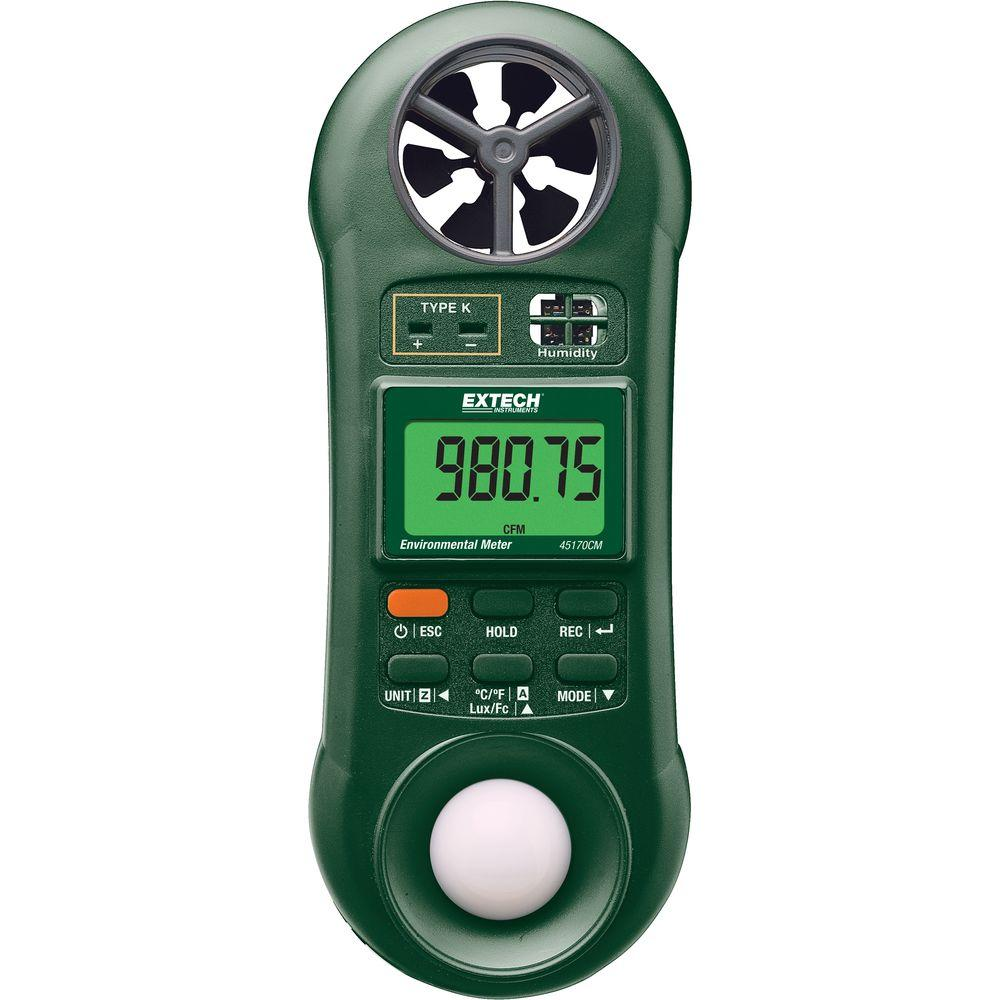 Extech Instruments 5-in-1 Environmental Meter