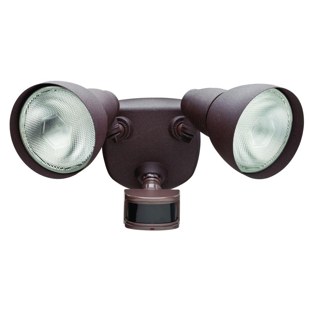 Defiant 270 rust motion outdoor security light df 5718 rs d the defiant 270 rust motion outdoor security light mozeypictures Images