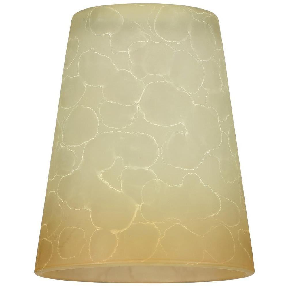 5-5/8 in. Smoldering Scavo Cone Shade with 2-1/4 in. Fitter and