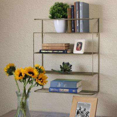 20 in. x 23 in. 3 Metal Wall Shelf