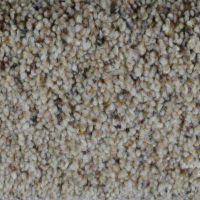 Carpet Sample - Galore II - Color Fort Knox Texture 8 in. x 8 in.