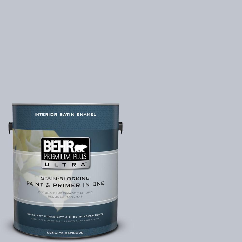 BEHR Premium Plus Ultra 1 gal. #N540-2 Glitter Color Satin Enamel ...