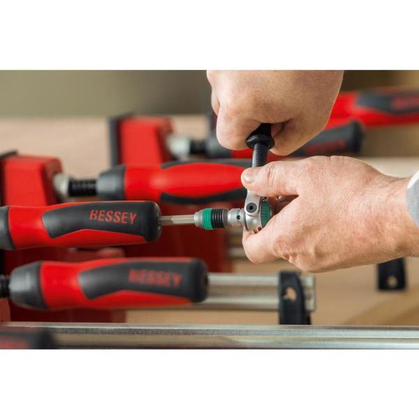 /2/K Body Clamp Bessey kre125/ 2/unidades color rojo