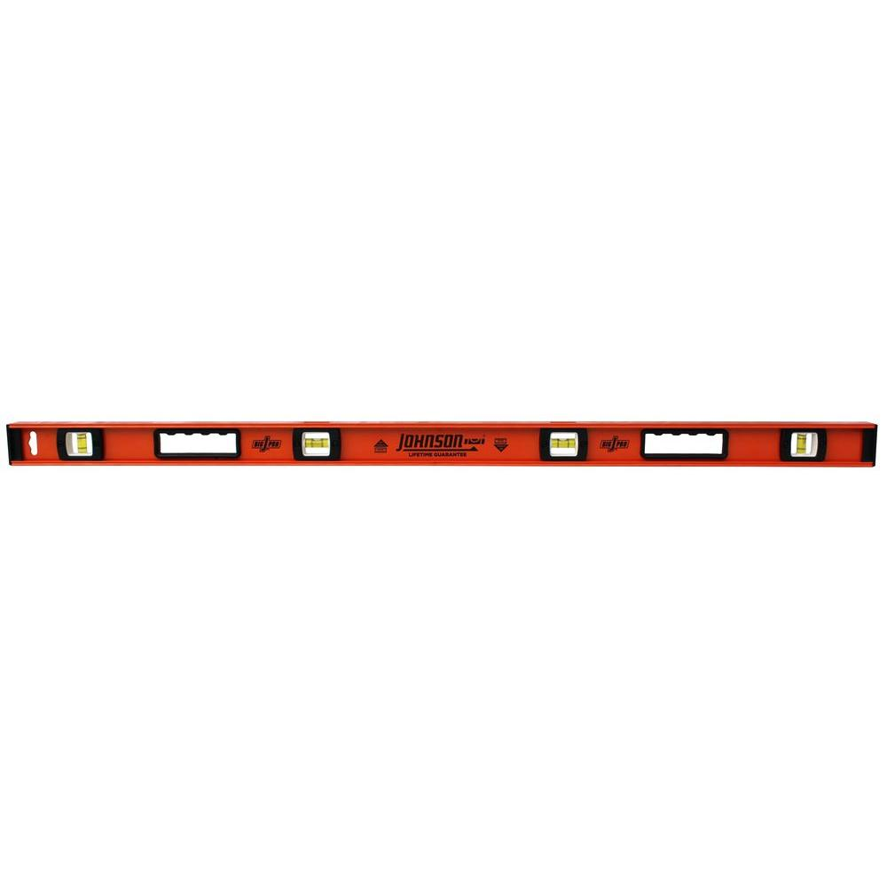 Johnson 72 in  Big J Pro Heavy Duty I-Beam Aluminum Level