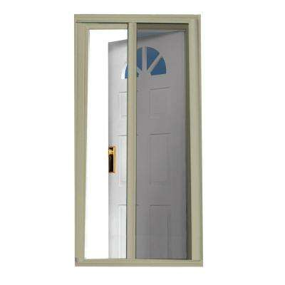 40 in. x 81.5 in. Sandstone Retractable Screen Door