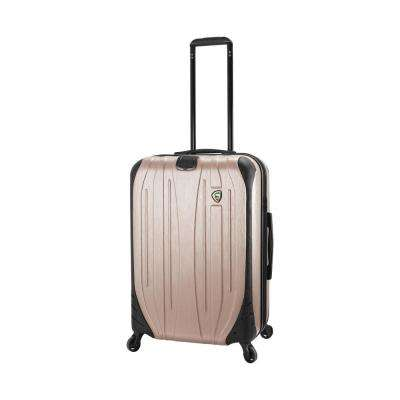 Ferro 24 in. Champagne Hardside Suitcase