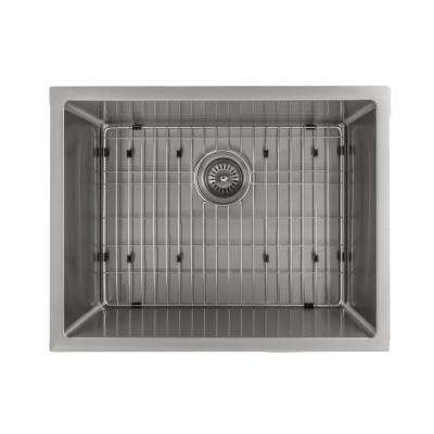 Classic Series 23 in. Undermount Single Bowl Kitchen Sink in Stainless Steel