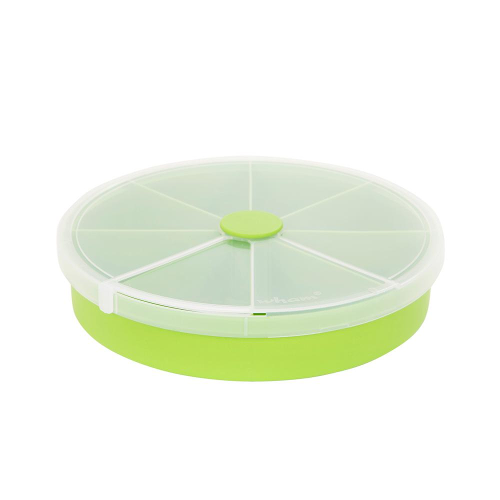 Wham 9.5 in. Round Organizer Box in Lime