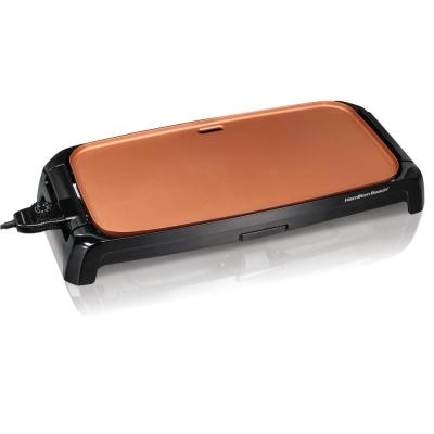 Reversible 200 sq. in. Black Durathon Ceramic Griddle