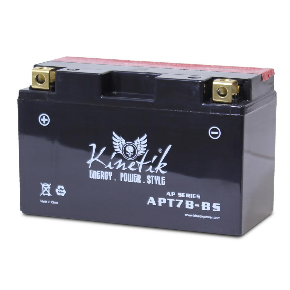 Dry Charge 12-Volt 6 Ah Capacity D Terminal Battery