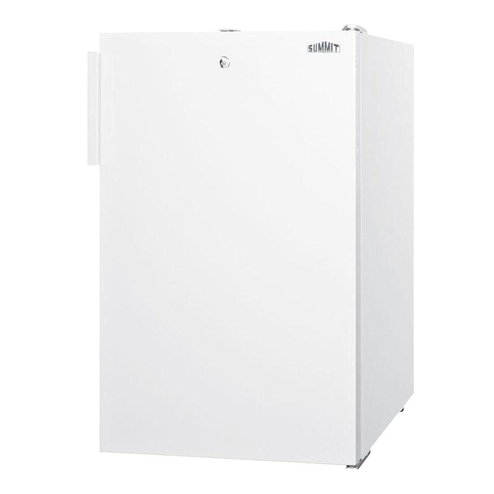 Summit Appliance 2.8 cu. ft. Upright Freezer with Lock in White