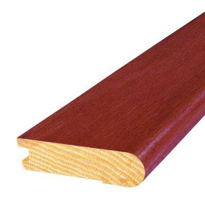 Oak Cherry 3 in. Wide x 84 in. Length Stair Nose Molding