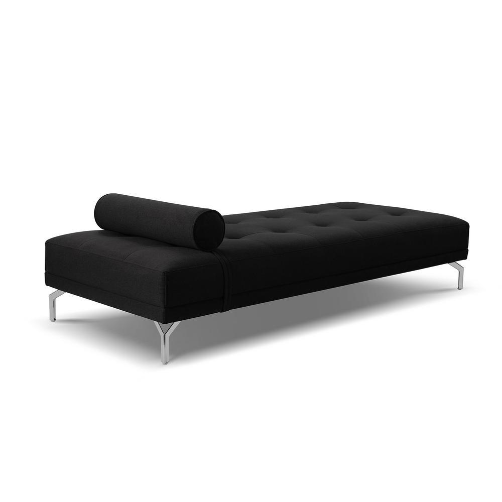 Abigail Daybed Jet Black Sofa