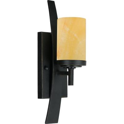 Kyle 1-Light Imperial Bronze Wall Sconce