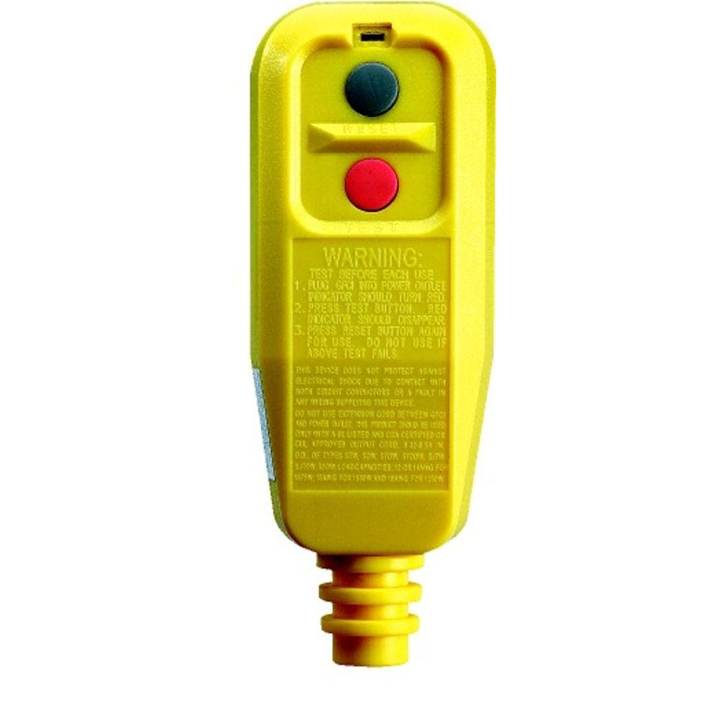 Tower Manufacturing Corporation Right Angle User Attachable GFCI Automatic Reset