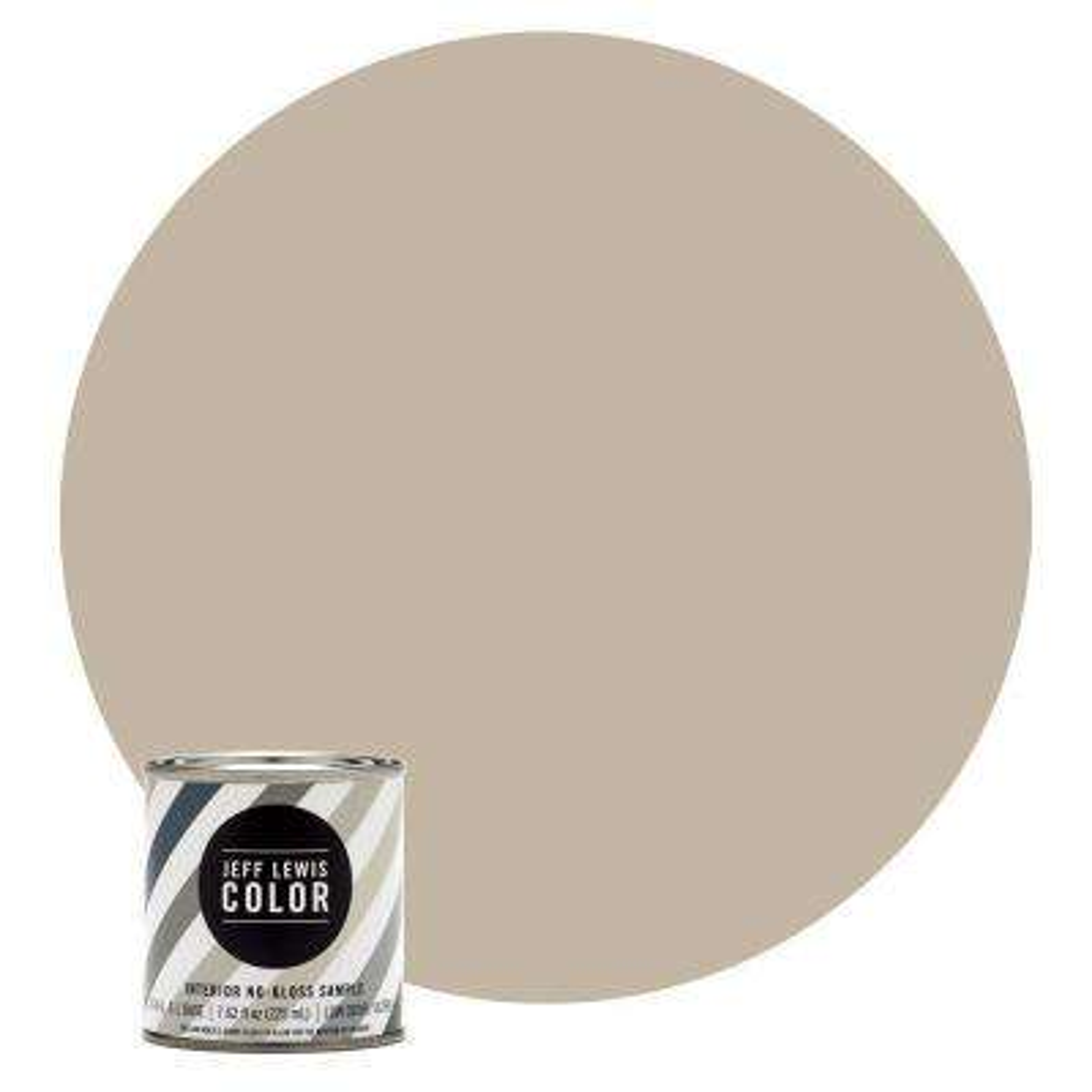 8 oz. #JLC214 Quarry No-Gloss Ultra-Low VOC Interior Paint Sample