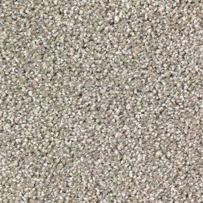Carpet Sample-Stylish Form - Color Mysterious Twist 8 in. x 8 in.