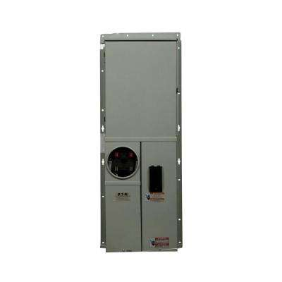 BR 200 Amp 42-Circuit Outdoor Solar Ready EUSERC Meter Breaker Panel