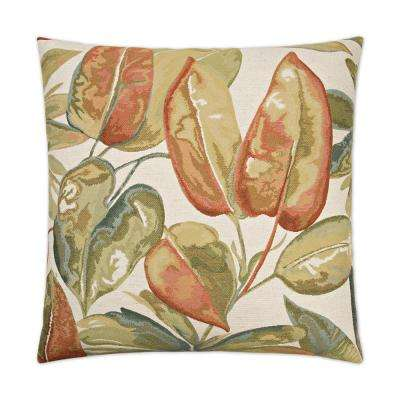 Sapna Feather Down 24 in. x 24 in. Standard Decorative Throw Pillow
