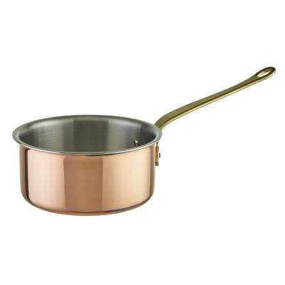 3-5/8 Qt. Tri-Ply Copper Sauce Pan