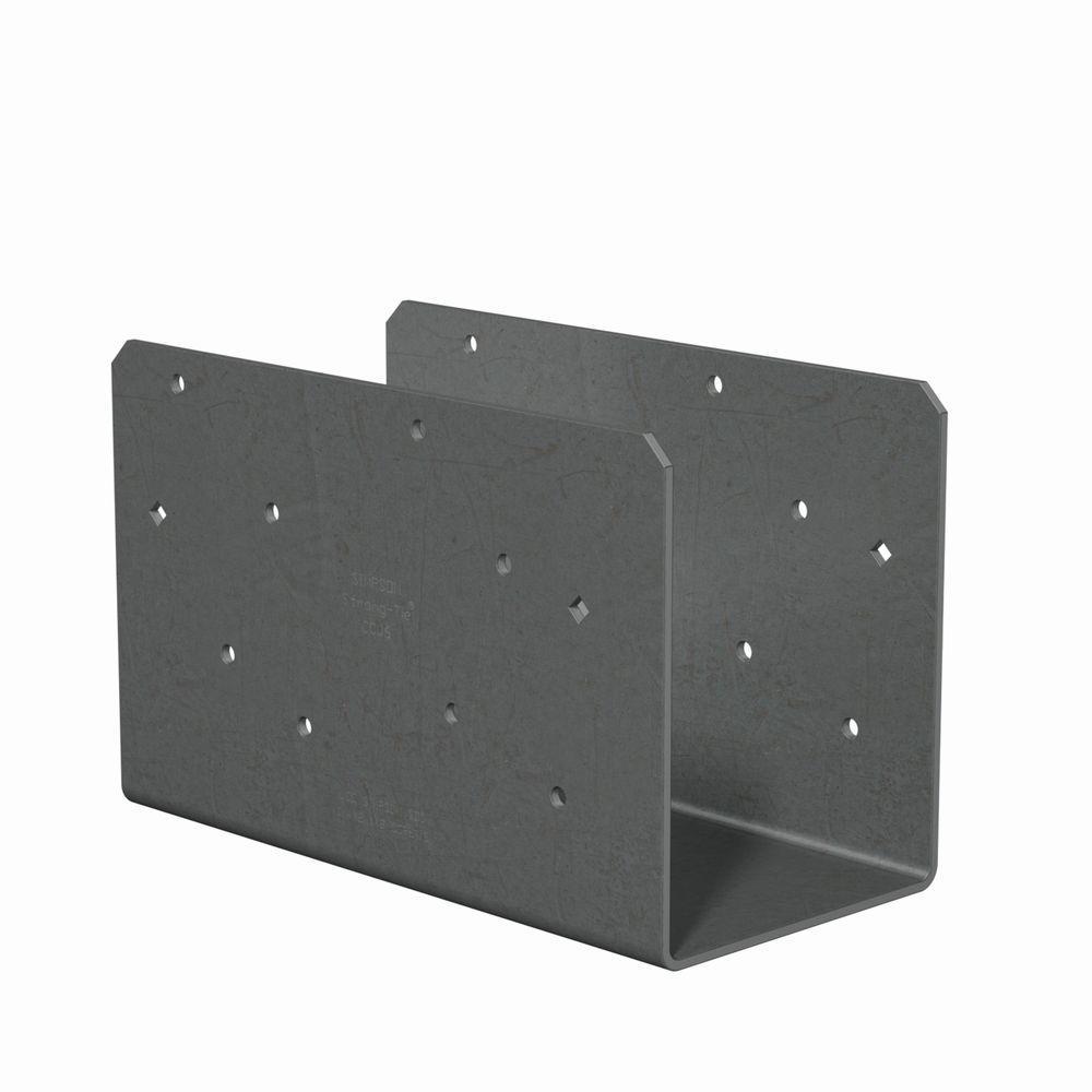 7-Gauge 6x Column Cap Only (No Straps) with SDS Screw