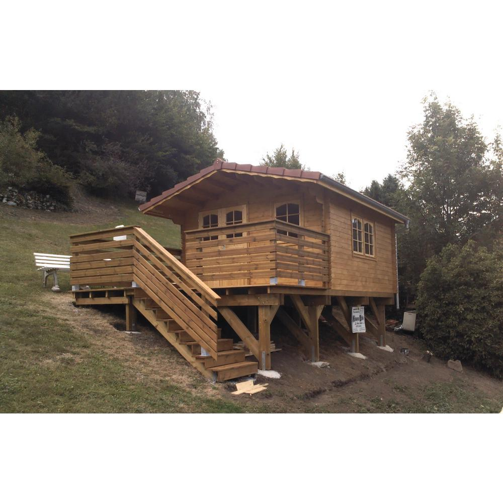 Ez log structures enzo 13 ft 1 in x 16 ft 4 in
