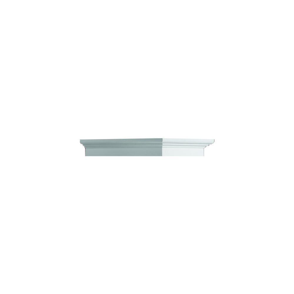 Fypon 1 3 4 in x 7 1 2 in x 12 in polyurethane dentil for Fypon dentil molding